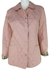 Burberry London Quilted Pastel Pink Jacket