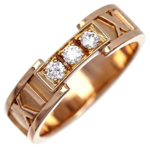 Tiffany & Co. Tiffany & Co. 18K Gold Diamond ATLAS Ring
