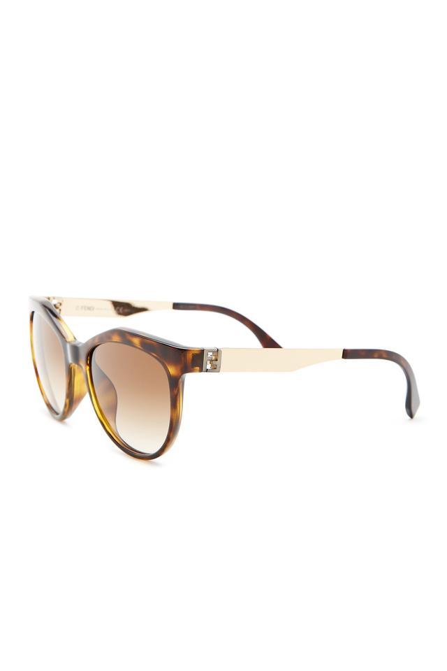 dca65c1b09084 Fendi Gold And White Cat Eye
