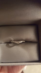 Zales White Gold Wedding Band From Zales