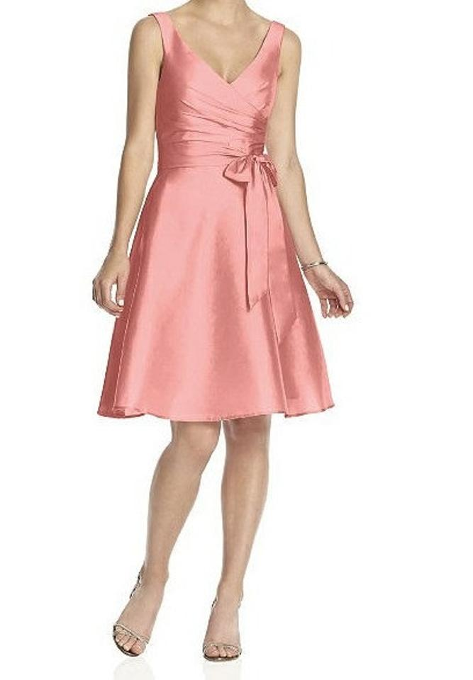 Alfred Sung Light Pink Cocktail Dress Size 2 (XS) - Tradesy