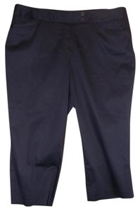 Lane Bryant New With Tags 20w Capris Dark Blue