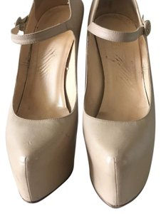 Christian Louboutin Beige/ Nude Platforms