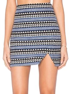 BCBGeneration Mini Skirt Black/Blue