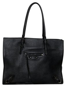 Balenciaga Chanel Celine Louis Gm Tote in Black