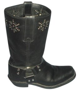 Frye 77700 Harness 6 Size 6 Black Boots