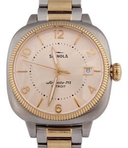 Shinola On Hold**Two Tone Gomelsky 36mm Watch