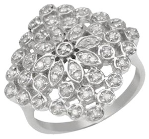 Other Ring with Diamonds .925 Sterling Silver