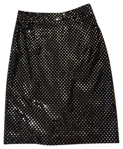 MILLY Skirt Black silver
