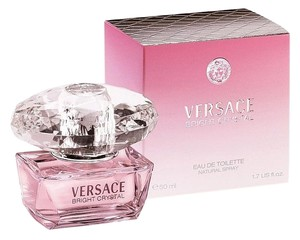 Versace VERSACE BRIGHT CRYSTAL by VERSACE Eau de Toilette ~ 1.7 oz / 50 ml