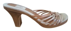 Fioni Leather Brown Pumps
