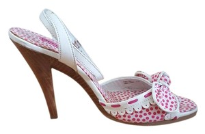 Betseyville Pink Polka Dot Pumps