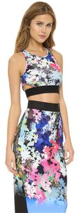 MILLY Floral Pencil Skirt Dress