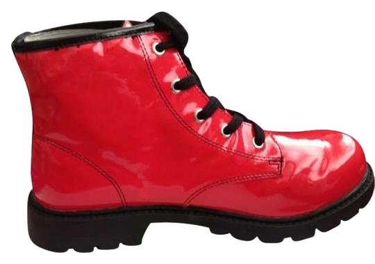 Preload https://item3.tradesy.com/images/wanted-bright-red-vinyl-bootsbooties-size-us-7-regular-m-b-192062-0-0.jpg?width=440&height=440