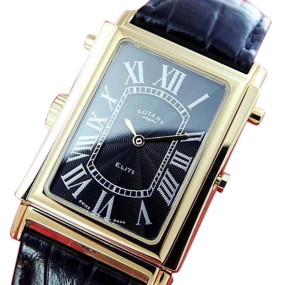 watches rare mens rotary elite reverso reversible white black rotary watches rare mens rotary elite reverso reversible white black dial quartz