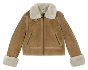 Wilsons Leather Suede tan Leather Jacket