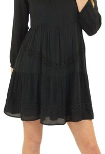 Lovers + Friends short dress Black Babydoll + Boho on Tradesy