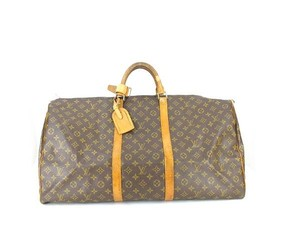 Louis Vuitton Duffle Jumbo Travel Brown Travel Bag