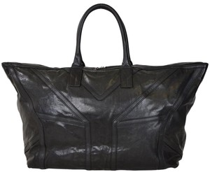 Saint Laurent Duffle Duffel Black Travel Bag