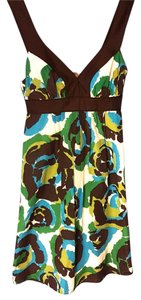 Banana Republic short dress Blue, Green, Brown Multicolor on Tradesy