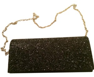 Windsor Black crystal Clutch