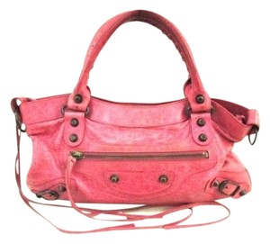 Balenciaga First Satchel in Pink