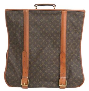 Louis Vuitton Porte Garment Suitcase Luggage Travel Monogram Travel Bag