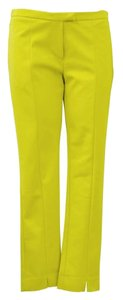 Gracia Straight Pants Green