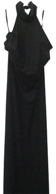 Preload https://item2.tradesy.com/images/dolce-and-gabbana-black-made-long-cocktail-dress-size-8-m-19211-0-1.jpg?width=400&height=650