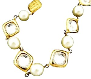 Chanel CC Pearl Necklace 207673