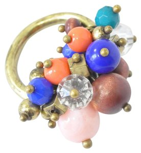Other Statement Ring | Cluster Bead Ring | Elastic Ring | Ring Size 7 - 10