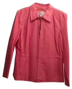 Worthington Pink Leather Jacket