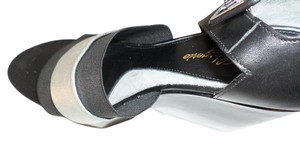 Robert Clergerie Metallic Black Platforms