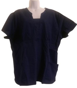 Butter-soft scrubs by UA T Shirt Navy Blue