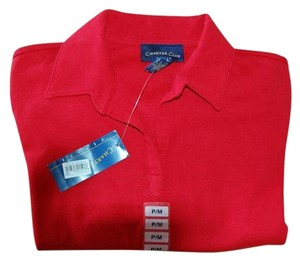Charter Club T Shirt Red