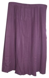 Talbots Wool Skirt Byzantine Purple