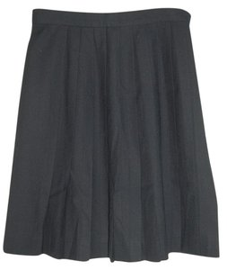 Talbots Wool Skirt Dark Blue