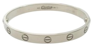 Cartier Cartier White Gold Love Bracelet sz 16