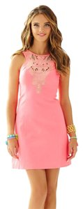 Lilly Pulitzer Summer Coral Party Dress