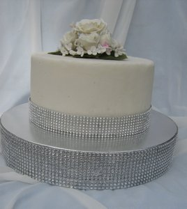 Wedding Diamond Mesh Cake Stand /cake Base
