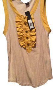 Marc Jacobs Top Beige with yellow