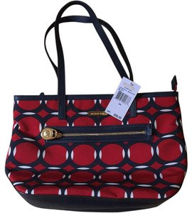 MICHAEL Michael Kors Tote in Red, White, Blie