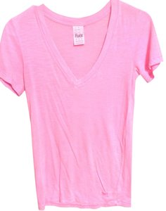 Victoria's Secret V-neck T Shirt pink