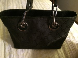 Gucci Black Monogram Bag
