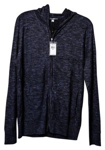 John Varvatos Sweater Navy Sweatshirt