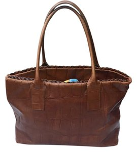 Falor Tote in Brown
