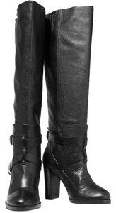 Rebecca Minkoff Knee-high Leather Biker-chic Fall Classic Black Boots