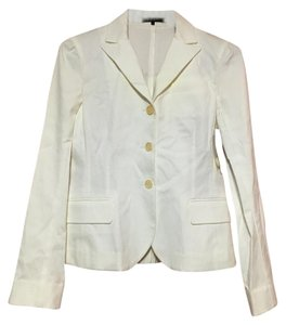 Theory Wear To Work Office Size 8 White Jacket