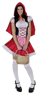California Costumes Little Red Riding Hood Adult M