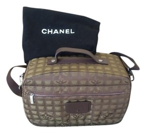 Chanel Tan/brown Travel Bag